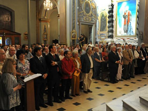 """""""Pepe"""" Mujica, siendo presidente uruguayo, convocó a una misa por Hugo Chávez, en 2012."""
